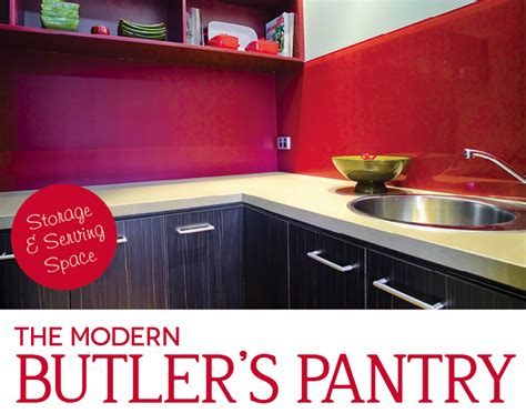 wonderful world  windemere  modern butlers pantry