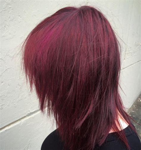 black hair to raspberry hair dark red hair colours to try this autumn