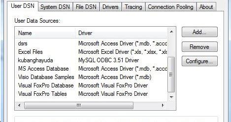 membuat koneksi database mysql dengan vb 6 0 cara koneksi visual basic 6 0 dengan database mysql blog