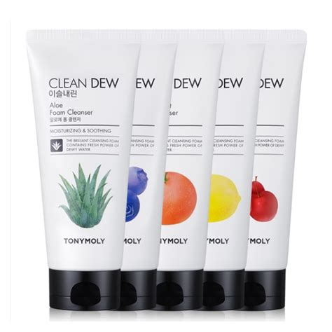 Harga Tony Moly Clean Dew Foam Cleanser tonymoly clean dew foam cleanser seoul next by you malaysia