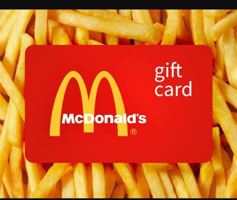 Balance On Mcdonalds Gift Card - 25 best ideas about mcdonalds gift card on pinterest gift card holders amazon