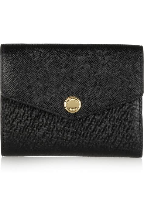 Mk Sml Wallet michael by michael kors small colorblock texturedleather wallet in black lyst