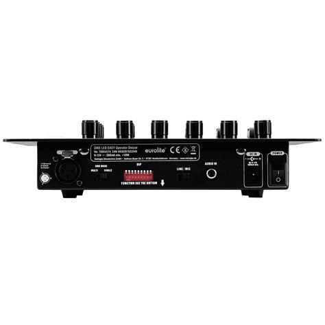 easy light controller eurolite dmx led easy operator deluxe 171 light controller