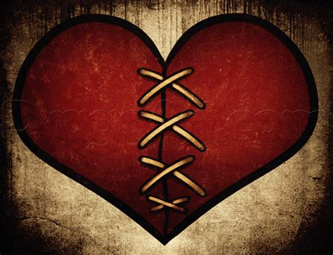 healing heart tattoo how to draw a healing heart step by step tattoos pop