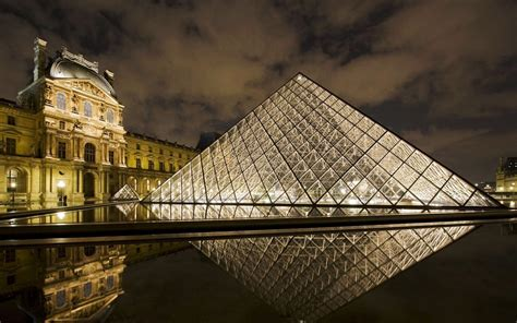 louvre museum paris wallpapers hd wallpapers id