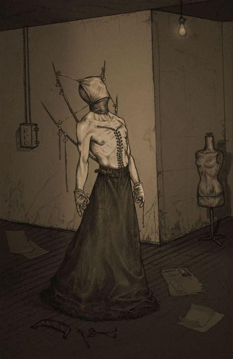 drawings  monsters  anastasios gionis  give   creeps