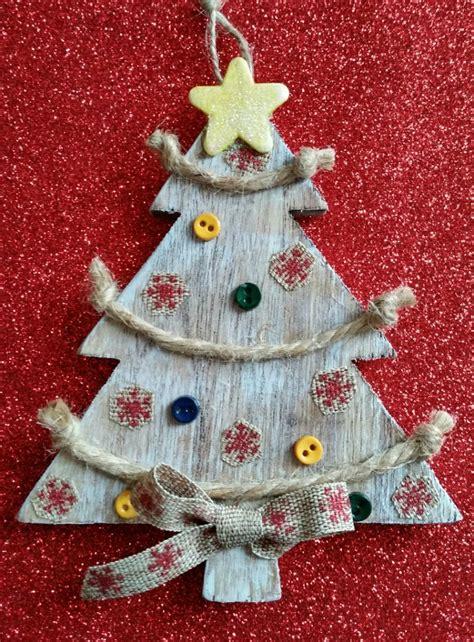 diy ornaments tutorials diy rustic tree ornament