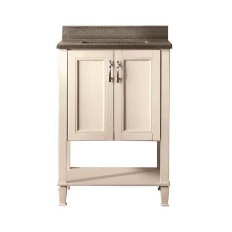 style selections bathroom vanity shop style selections ashen white undermount single sink