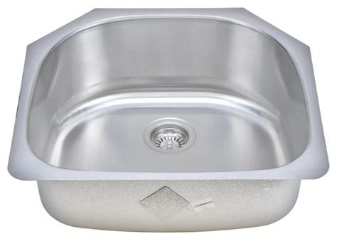sinkware d shaped bowl sink traditional kitchen