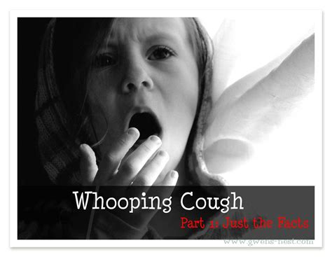 whooping couch symptoms whooping cough part i gwen s nest