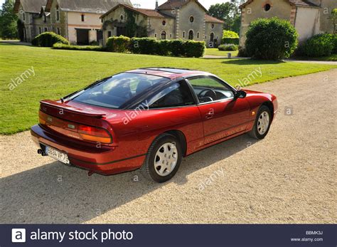 japanese nissan japanese nissan 200sx sport coupe stock photo royalty