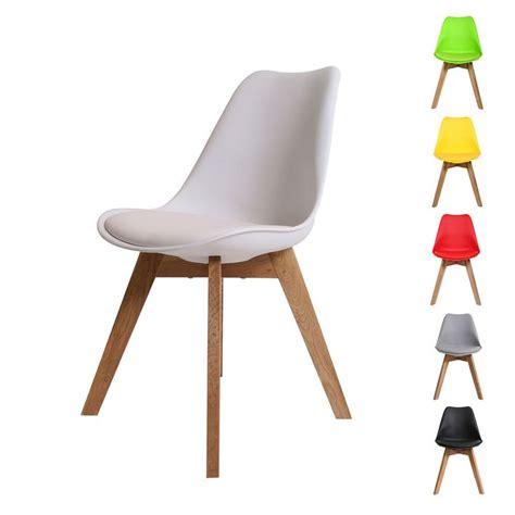schalenstuhl holzbeine designer esszimmerstuhl mit ledersitz eichenholz