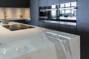 Carrara Marble Kitchen Backsplash neolith neolith the main material in a luxurious