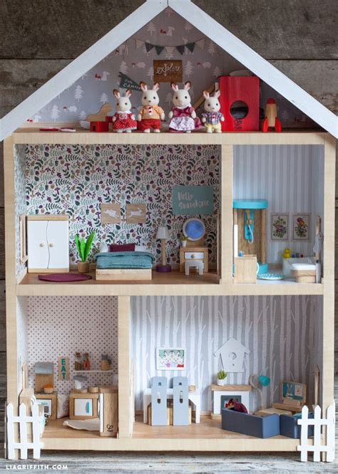 build your own doll house make your own dolls house furniture home mansion