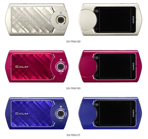 New Casio Exilim Cosies Up To Technology by Casio S New Compact Is For Selfie Addicts