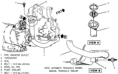 how to remove fuel pump 1995 buick skylark repair guides engine mechanical thermostat
