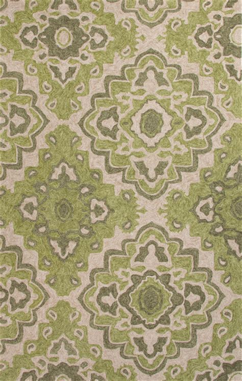moroccan pattern area rug moroccan pattern polyester green ivory indoor outdoor area rug 5x7 6 eclectic rugs by