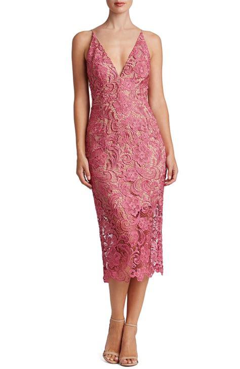 Lace Midi Cocktail Dress lace midi dresses dress for the wedding