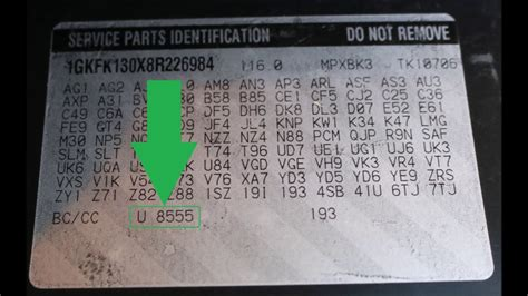 find color code from image how to find your gmc paint code