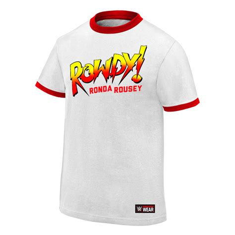T Shirt Rowdy Ronda Rousey Ufc official authentic ronda rousey quot rowdy ronda rousey quot t