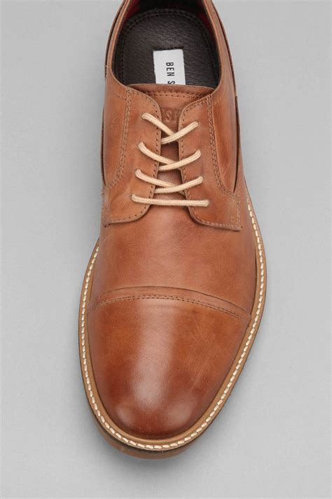 ben sherman shoe in brown for lyst