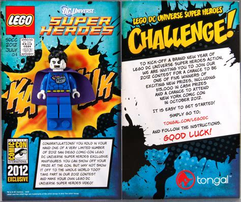 Comic Giveaway - comic con exclusive bizarro giveaway brickipedia the lego wiki