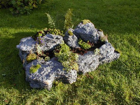 imitation rocks for gardens lightweight imitation limestone rocks for your garden hit