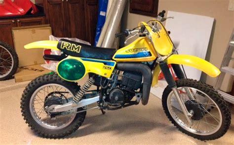 Suzuki Rm250 Parts 1980 Suzuki Rm250 Az Floater Suzuki Rm Vintage