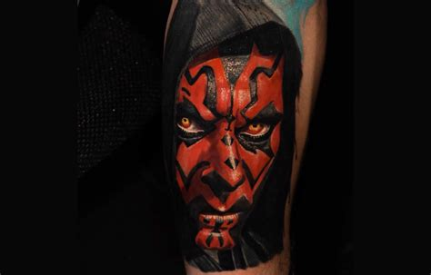 darth maul tattoo design 16 amazing wars tattoos including one from the