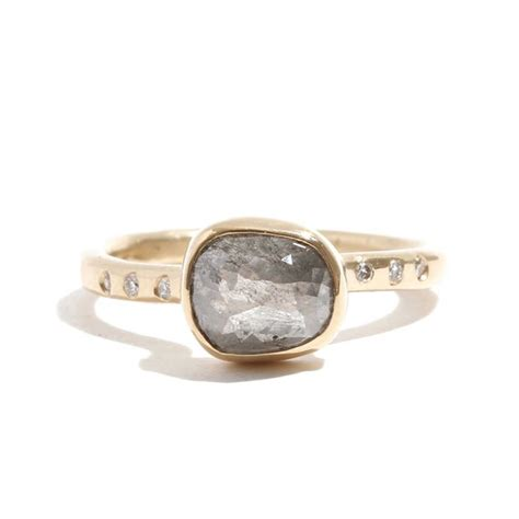 non engagement rings striking non traditional engagement rings from