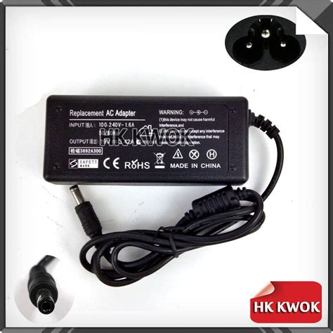 Charger Notebook Replacement For Toshiba 19v 342a 19v 3 42a 5 5mm 2 5mm 65w ac power adapter laptop for