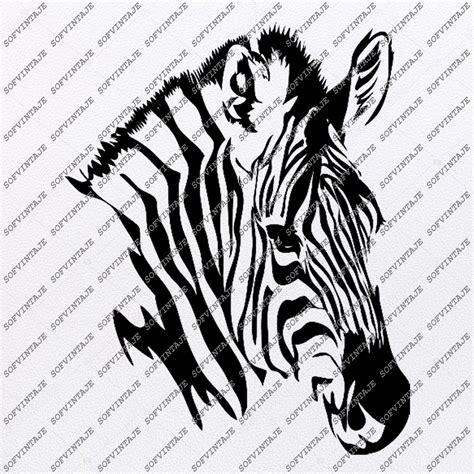 zebra horse svg file wild horse original svg design