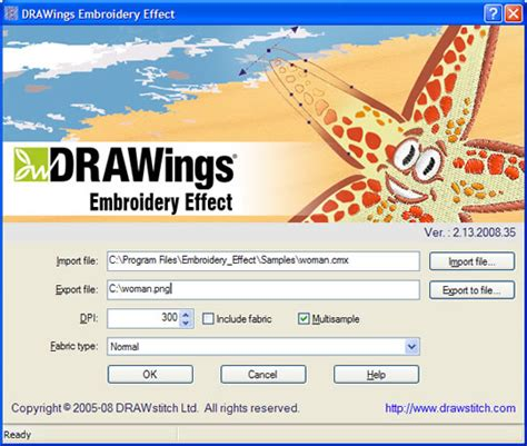 Creative Drawings Embroidery Software Free