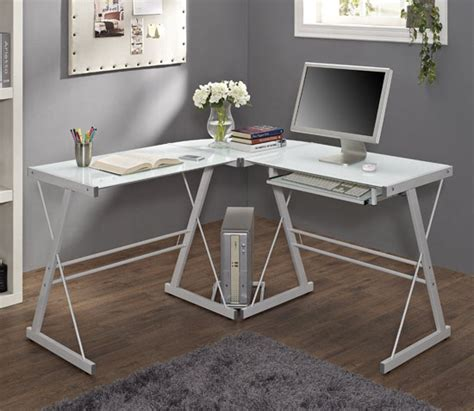 modern walker edison soreno 3 piece corner desk turns any