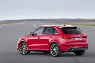 audi rs q3 facelift specs 2015 2016 2017 autoevolution
