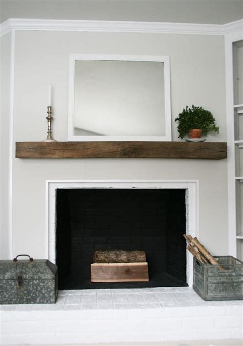 25 best ideas about reclaimed wood mantle on