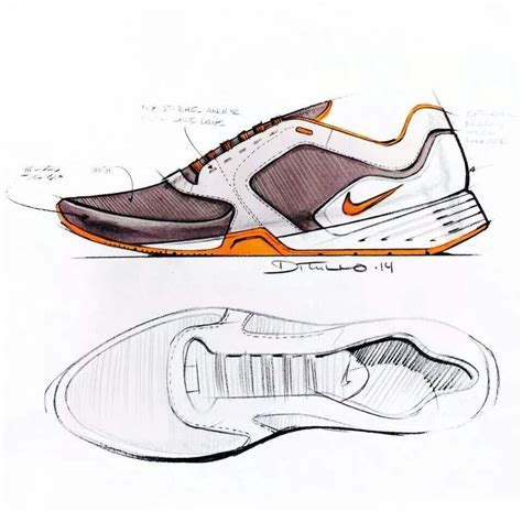 athletic shoe design nike shoes design sketch sketch shoes