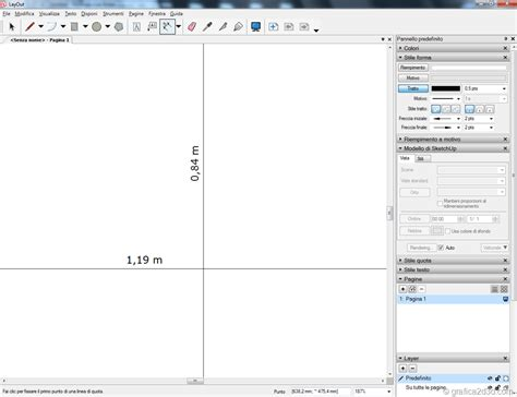 layout sketchup a0 layout sketchup impostare un layout personalizzato