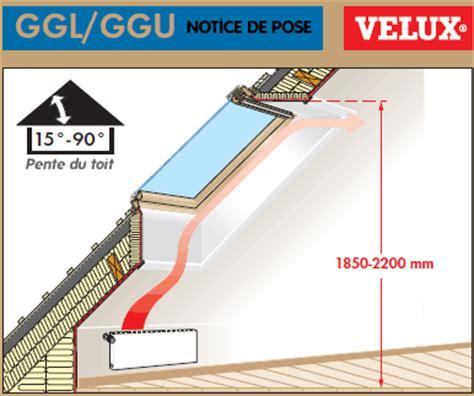 Hauteur D Un Rideau Par Rapport Au Sol by Pose Velux Comment Poser Un Velux Guide D Installation