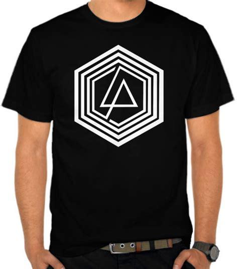 Kaos Distro Oceanseven Linkin Park Logo jual kaos linkin park hexagon logo linkin park