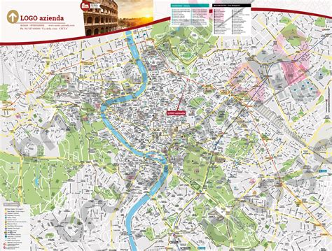 di roma on line mappa di roma cartina centro storico di roma