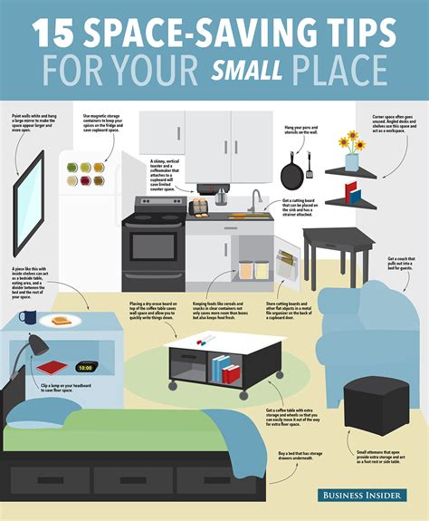 15 ways to save space in your small apartment small