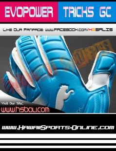Sarung Tangan Kiper Evopower Grip 43 Gk Gloves Blue 04122702 toko olahraga hawaii sports sarung tangan kiper original