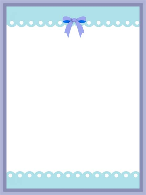 baby gestell printable borders and image frames