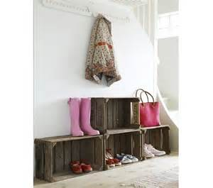 how to build a shoe organizer for entryway remodelista
