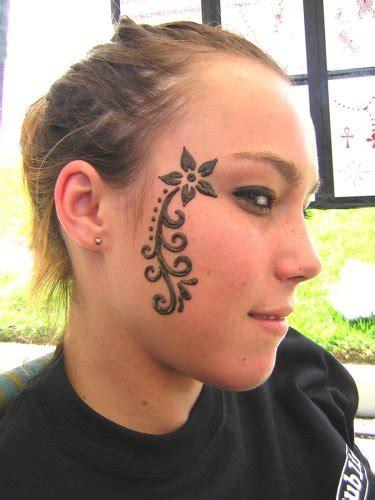 temporary face tattoos