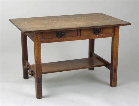 Gustav Stickley Desk 09 11 08 Sold 718 75 Stickley Desk