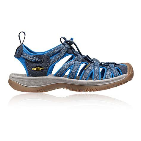 keen hiking sandals keen whisper womens blue outdoors walking hiking sandals