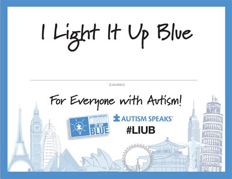 light it up blue for autism light it up blue isn t autism awareness it s