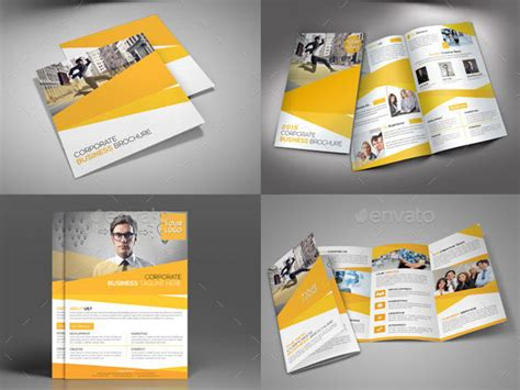 layout presentation indesign 21 striking square brochure template designs web